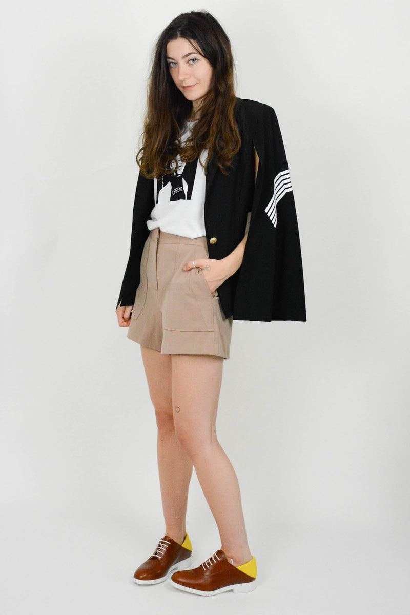 Abstract Cape Blazer