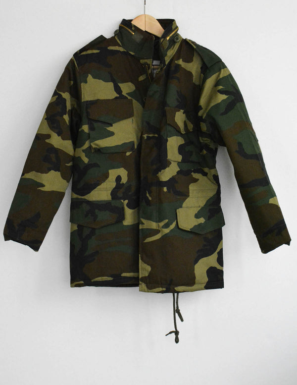 Abstract Camo Womens Field Jacket