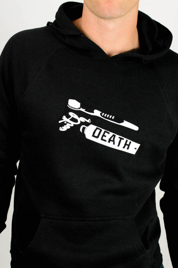 Brush With Death Black Hoodie