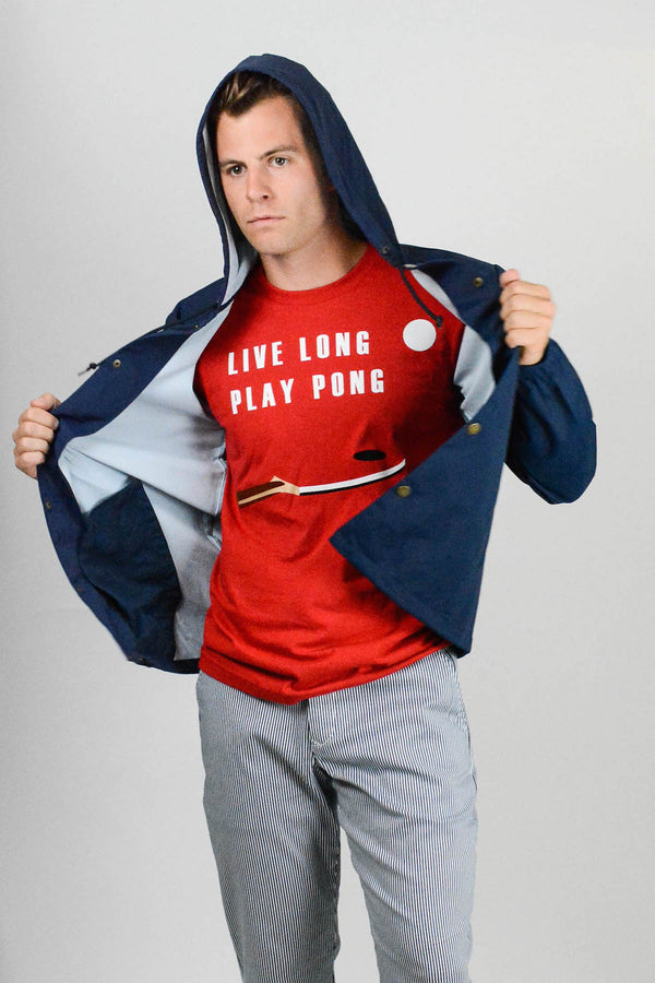 Live Long Play Pong T-Shirt