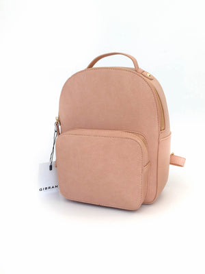 Pebbled Pink Backpack