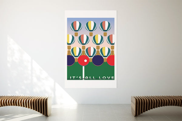 It's all Love art print
