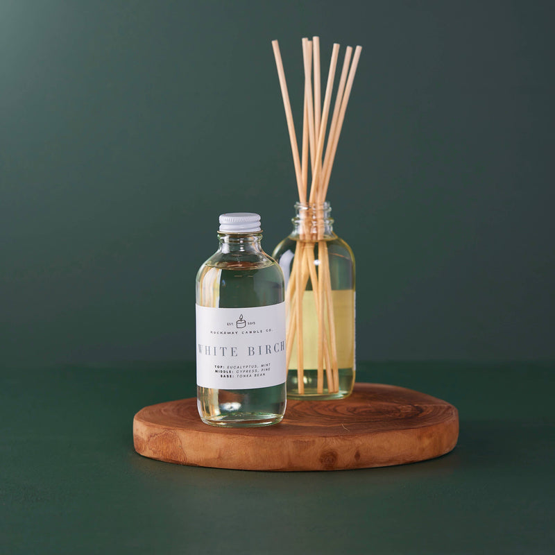 Rockaway Candle Co - White Birch Reed Diffuser - Seasonal Collection