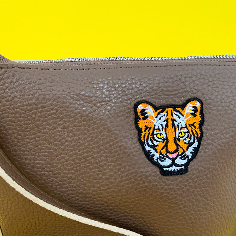 Tiger Babe Patch Purse
