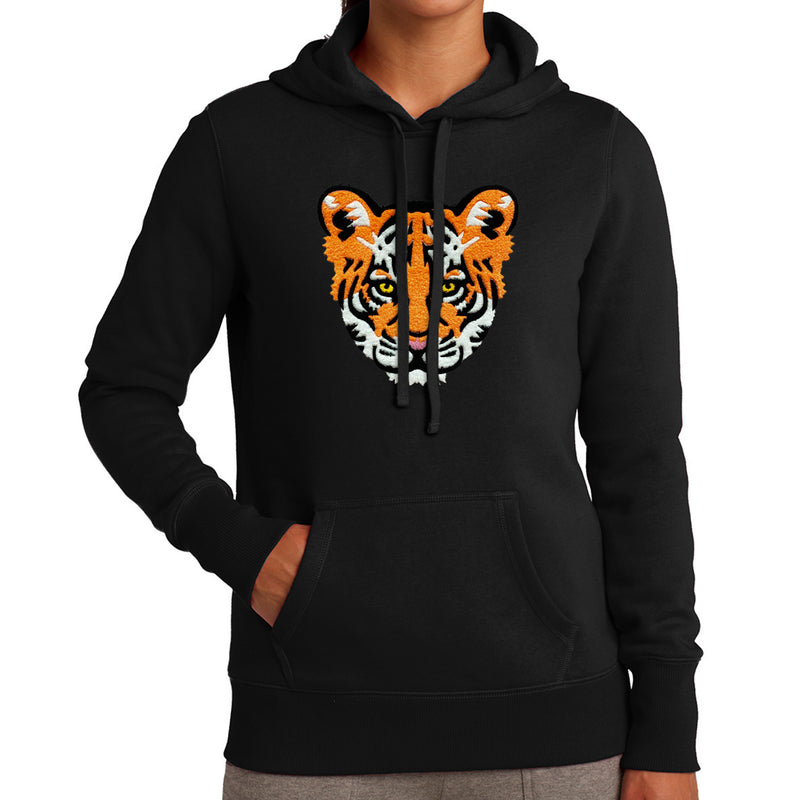 Tiger Babe Womens Hoodie