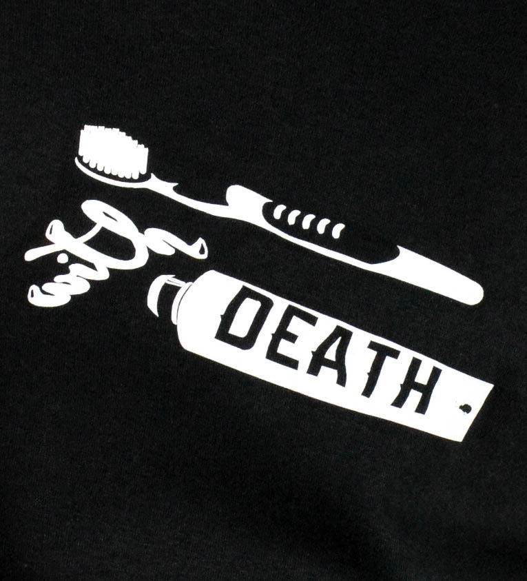 Brush With Death White Tee (men's)