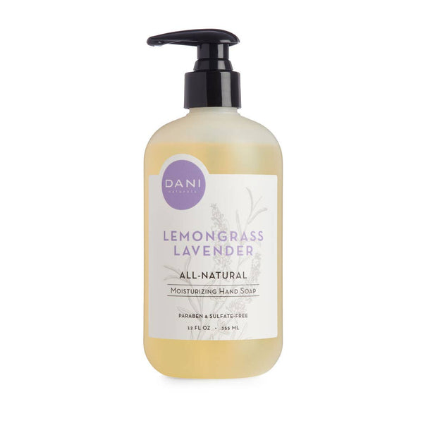 DANI Naturals - 12oz Lemongrass Lavender Liquid Hand Soap