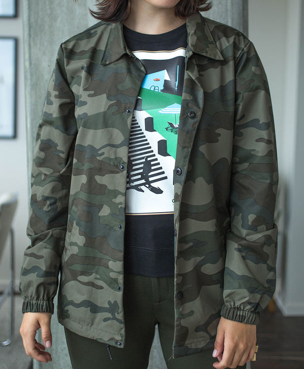 Forest Camo Waterproof Jacket