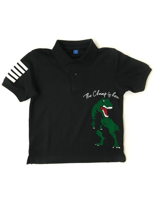 Champ is Here Kids Polo shirt