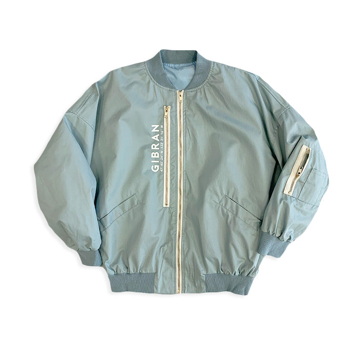 Which Life Blue Dolman Bomber