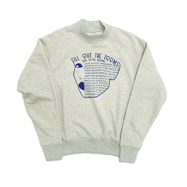 Social Norms Mock Sweatshirt