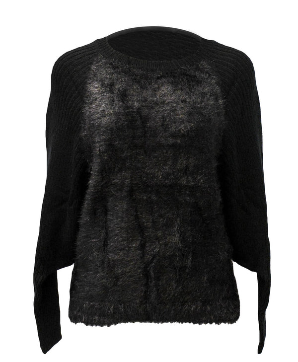 Dolman Faux Fur top