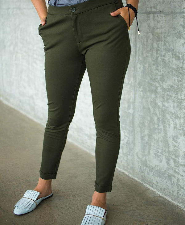 Forest Green Everyday Pant