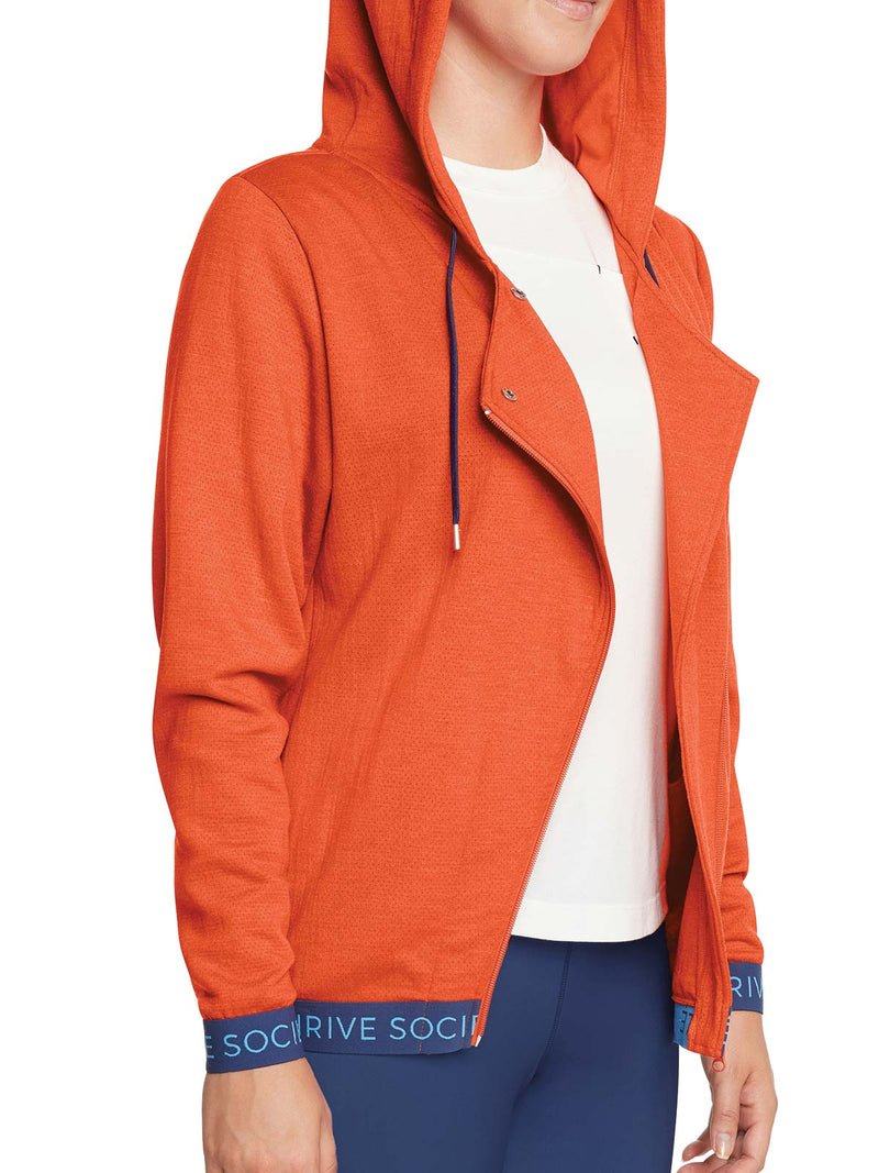 Orange Thrive Hoodie