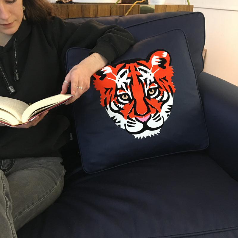 Tiger Stripes Pillow