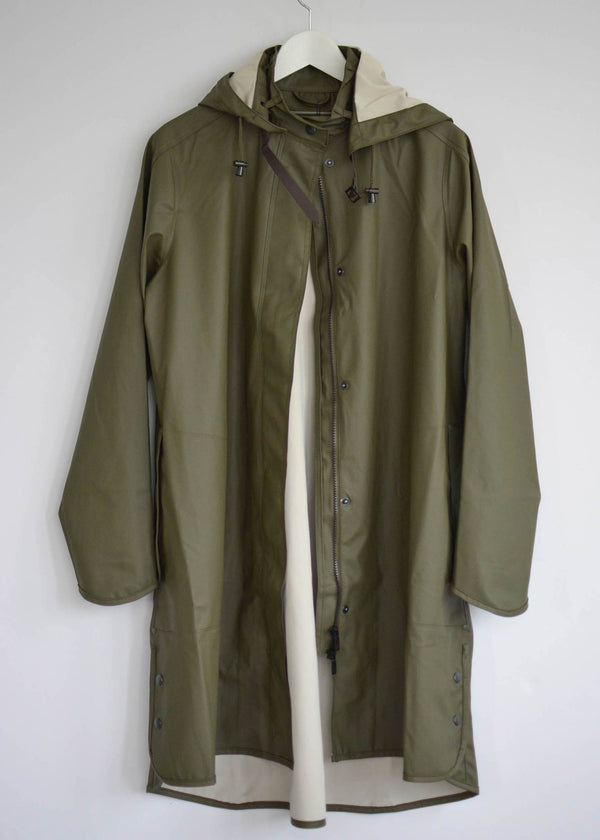 Ilse Jacobsen Army Green Raincoat