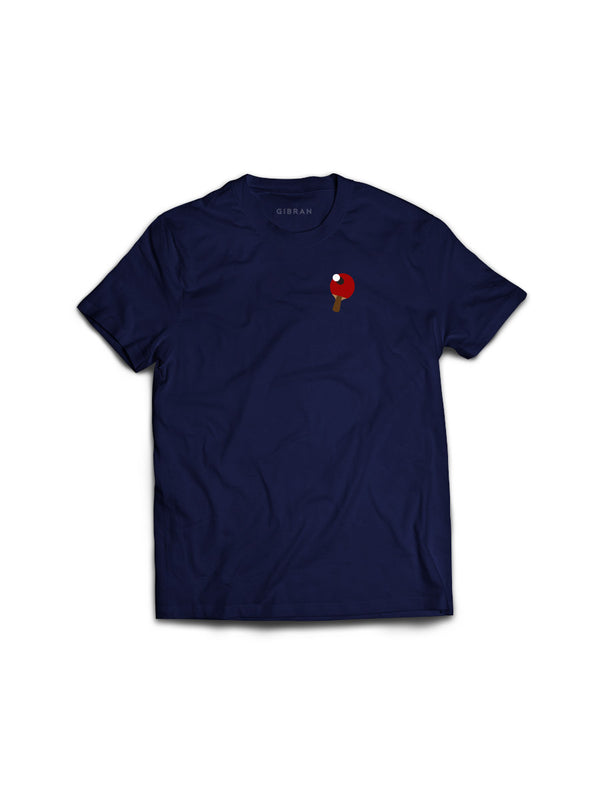 Rally Ping Pong Navy Tee