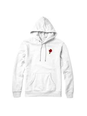 Rally Ping Pong White Hoodie