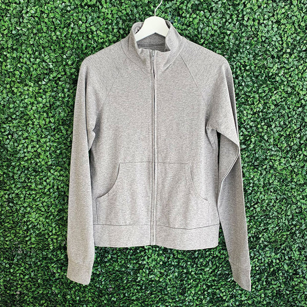Stoic Grey Womens Zip Up Jacket