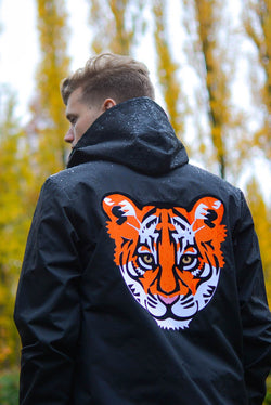 Mens Tiger Babe waterproof jacket