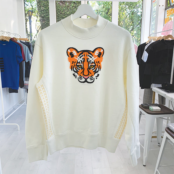 Tiger Babe Mock Sweatshirt