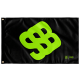 SSB Symbol Flag (Black)