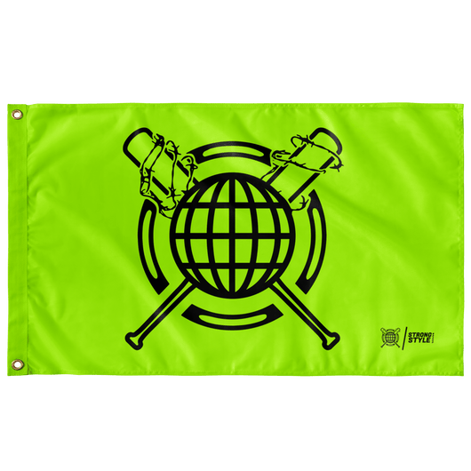 Global Bats Flag (Green)