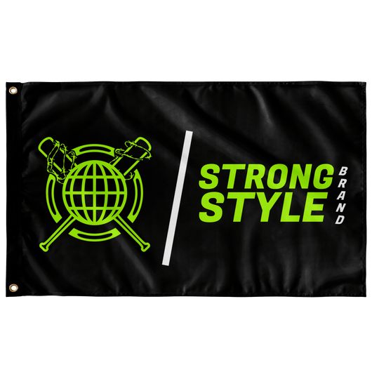 2020 Logo Flag (Black)