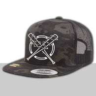 Dark Camo Trucker Hat