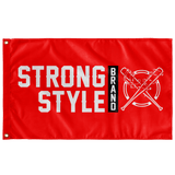 Classic Logo Flag (Red)