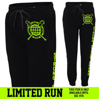 Green Global Fleece Joggers *Limited Time Only*
