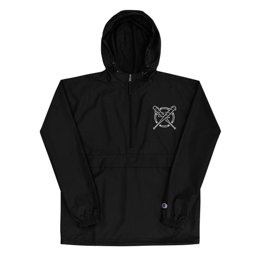 Barbed Wire Bats Champion Windbreaker Jacket (Packable)