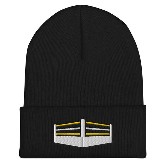Yellow Ring Cuffed Beanie