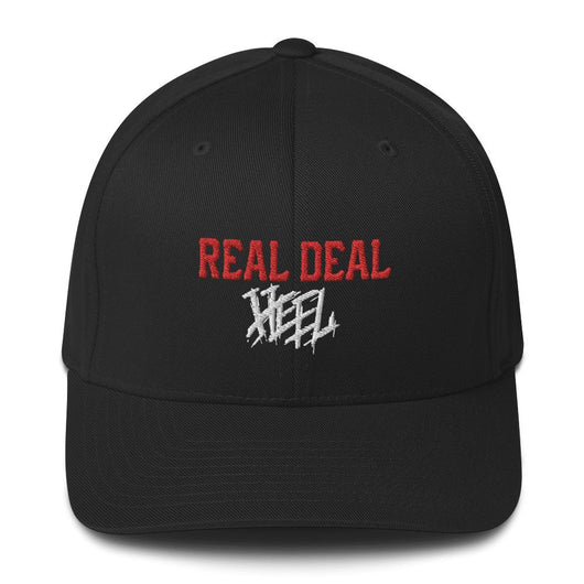 Real Deal Heel Flexfit (Red/White)