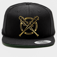 Original Snapback - Gold Stitch on Black - Strong Style Brand