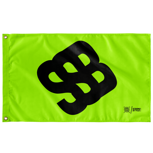 SSB Symbol Flag (Green)
