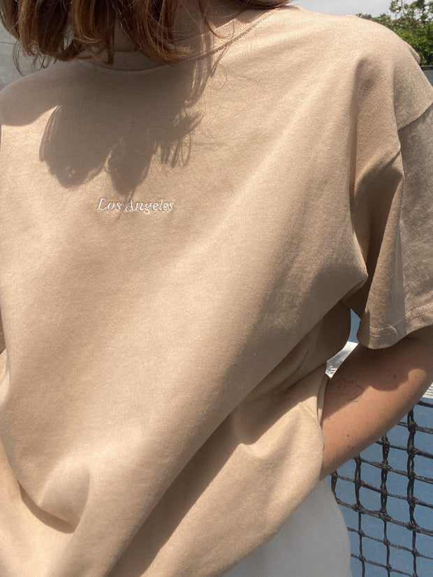 """SAND """"BEVERLY DR."""" TEE 1"""