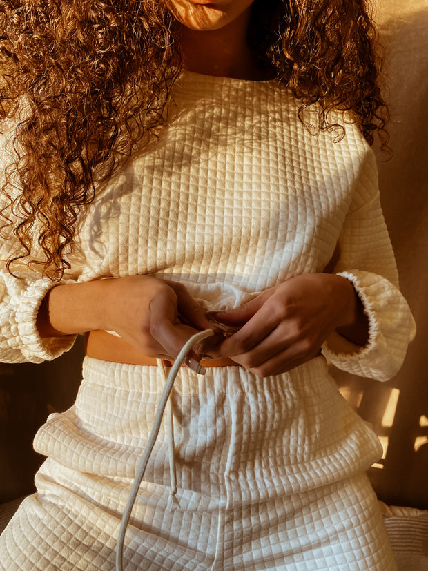 """""""MOONSTONE"""" QUILTED KNIT SET 1"""