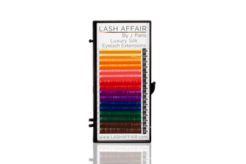 Colored Classic Luxury Silk Lashes