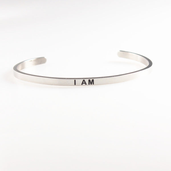 Stainless Steel Mantra Bands