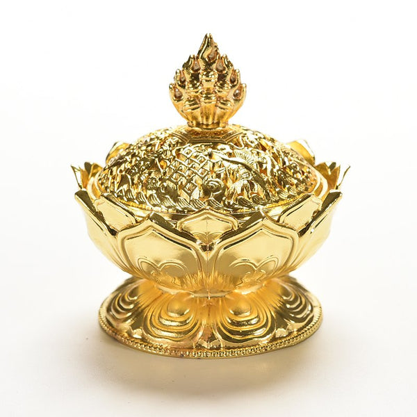 Mini Lotus Incense Burner