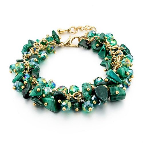 Beautiful multi chip energy bracelets