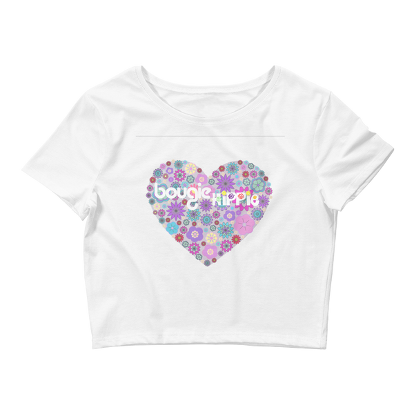 Bougie Hippie Heart Women's Crop Tee 2