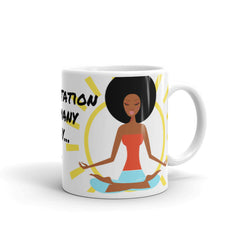 Coffee Plus Meditaiton Mug