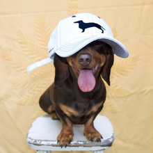 Load image into Gallery viewer, White Sausage Dog Hat