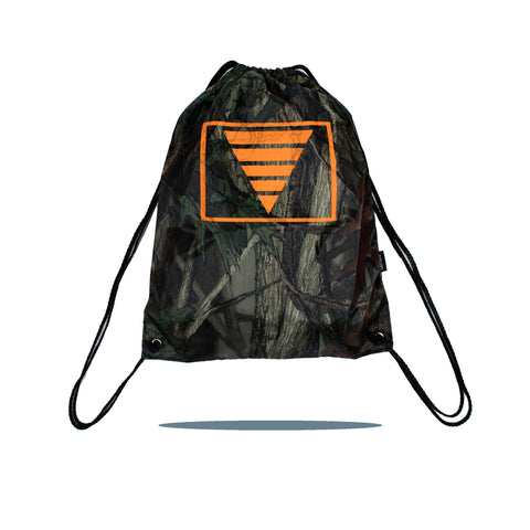Camo Cinch Pack (Camo/Orange)