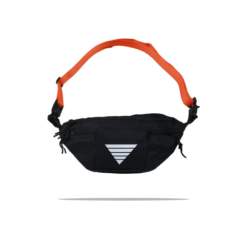 < hold me > Bag in Black/White/Safety Orange