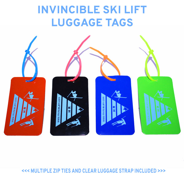 Ski Lift Luggage Tag