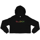 Brown Skin Girl Crop Hoodie