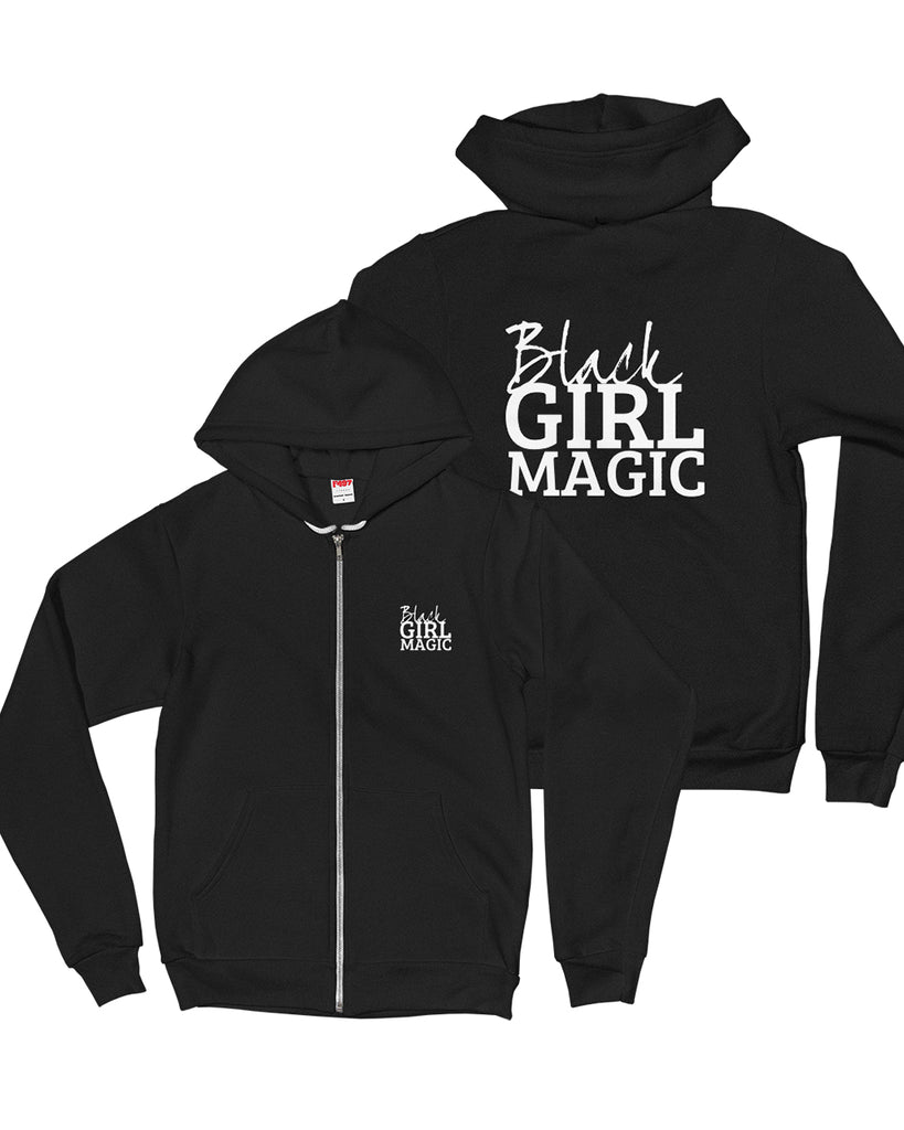 Black Girl Magic Heavy Blend Zip Up Jacket